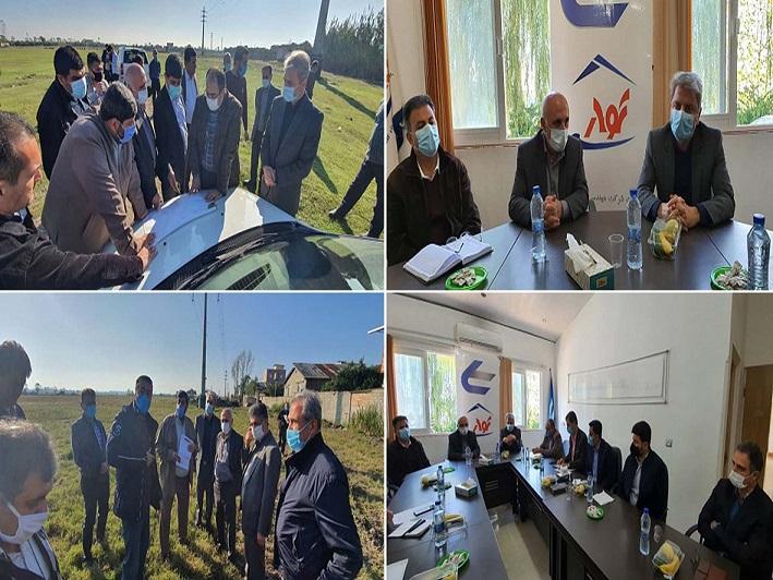 بازدید رئیس مجمع نمایندگان مازندران از تصفیه خانه و خط انتقال آب شرب بابل