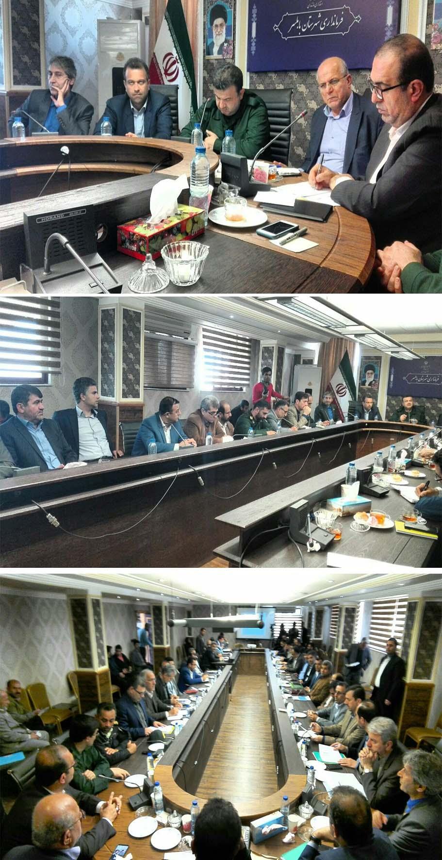 در جلسه مدیریت بحران شهرستان بابلسر تاکید شد: